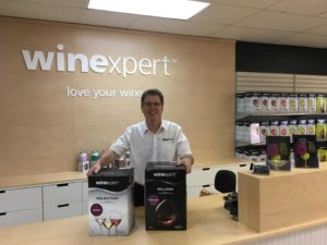 Marc Simard owner of Winexpert Cornwall
