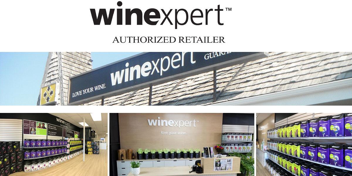 Winexpert Cornwall is a Winexpert Authorized Retailer
